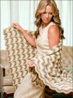 Reversible Ripple Afghans Crochet Book AA 871070 DISCONTINUED